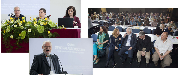First Day of General Assembly. Photo: MIha Fras/ICORN