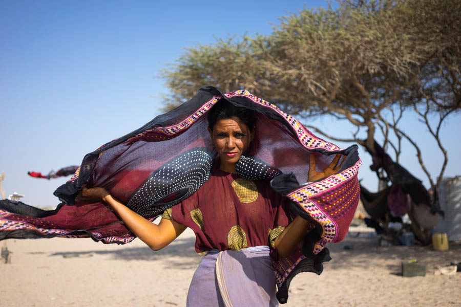 From Amira Al-Sharif's series Yemeni Women with Enduring Spirits. Courtesy of  ©Amira Al-Sharif. Photo.