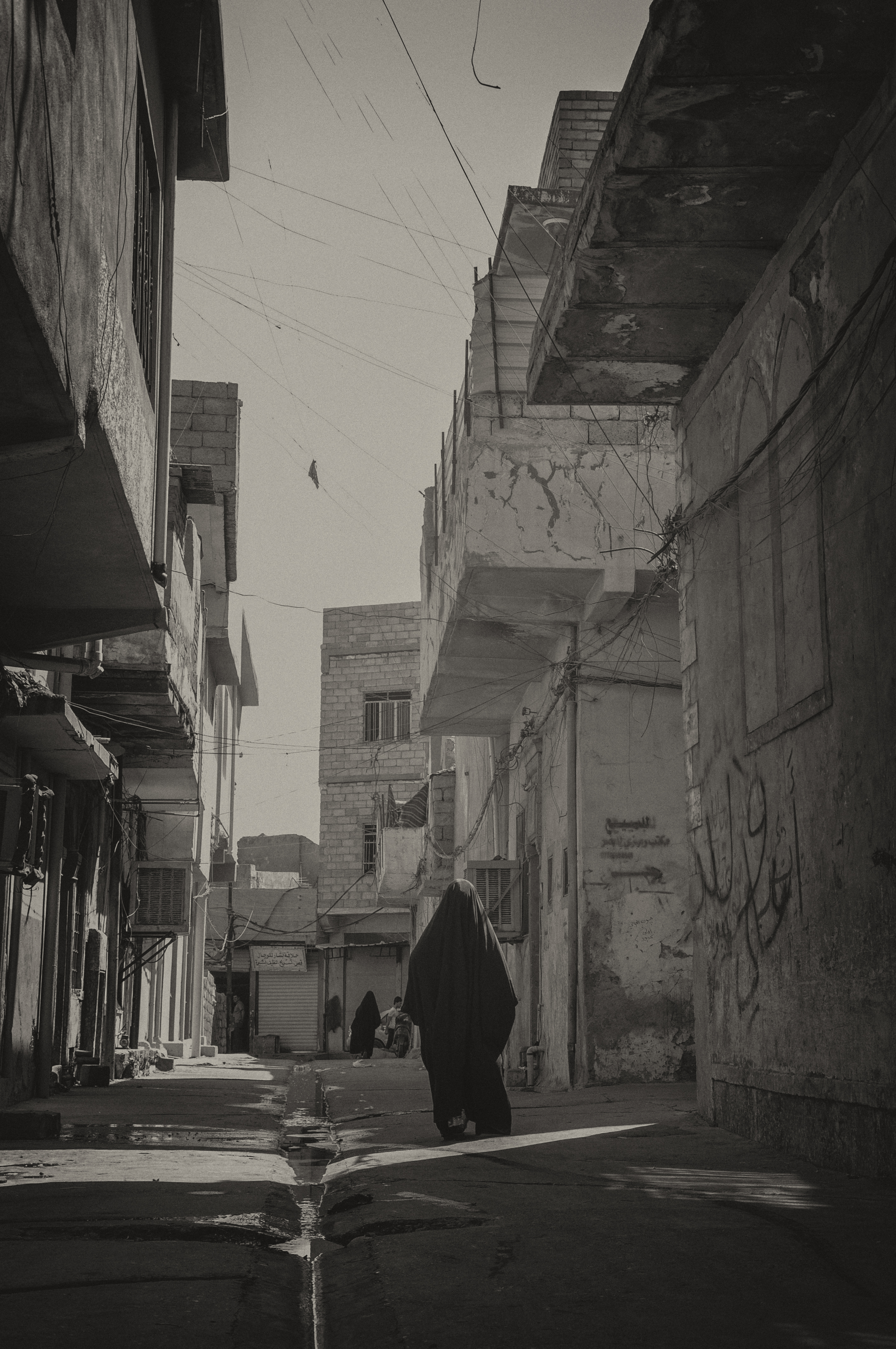 In the streets of Mosul, Iraq, in 2013. Photo by: Zaid Alobayde. Photo.
