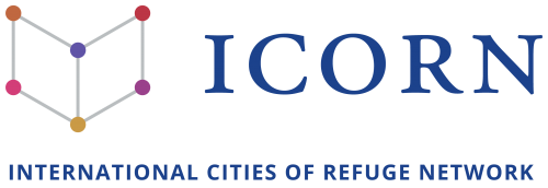 ICORN International Cities of Refuge Network. Logo RGB. Photo.