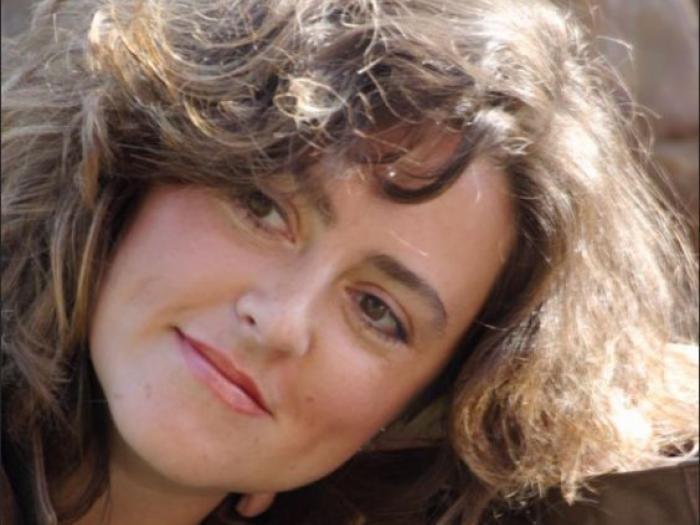 ICORN writer-in-residence Anzhelina Polonskaya. Image courtesy of the author. Photo.