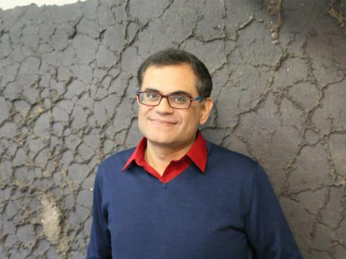 Pakistani author and journalist Raza Rumi. Image by City of Asylum. Rights reserved. Photo.
