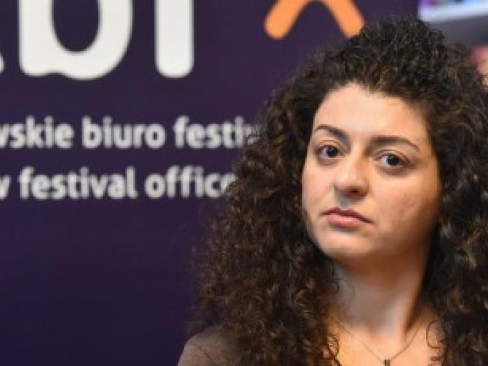 Kholoud Charaf, Syrian poet and art critic, is new ICORN writer in Krakow City of Refuge.Photo.