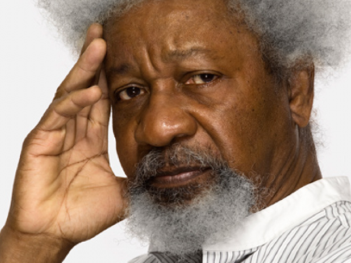 Wole Soyinka. Photo.