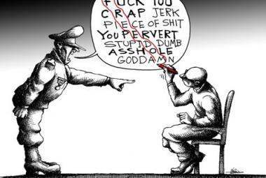 Illustration by Mana Neyestani, ICORN Cartoonist in Paris