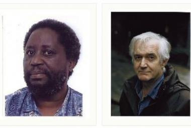 African/European Chenjerai Hove and Euopean/African Henning Mankell