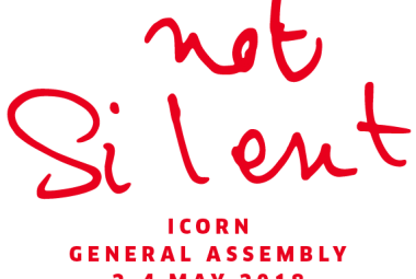 Safe not Silent, ICORN General Assembly, 2-4 May 2018, Malmö. Photo.