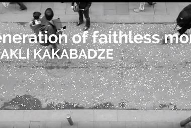 Irakli Kakabadze: Generation of Faithless Monks. Photo.