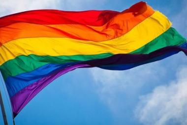 LGBTI Flag. Photo.
