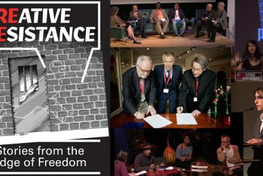 Creative Resistance: Stories from the Edge of Freedom. ICORN Network Meeting & PEN International WiPC Conference 2016. © Hossein Salmanzadeh/ICORN.Photo.