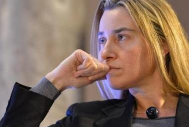 The EU High Representative for Foreign Affairs and Security Ms. Federica Mogherini. Photo.