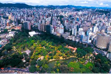 Parque Municipal, Belo Horizonte. Photo: Prefeitura BH. Photo.