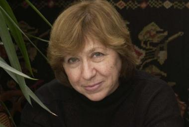 Svetlana Alexievich. Photo.