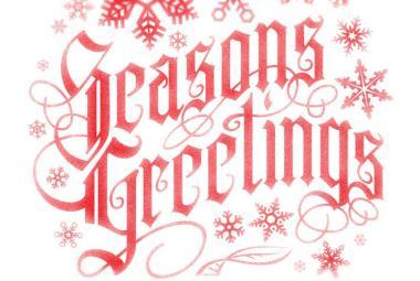 Season greetings photo.