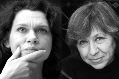 Asli Erdorgan and Svetlana Alexievich