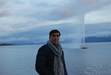 Afghan musician Hamid Sakhizada in Harstad city of refuge