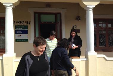 Checking out possible residency housing in Cape Town. Photo: Fredrik Elg