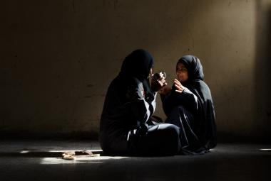 Photo by Amira Al-Sharif from her documentary series Yemeni Women with Enduring Spirits. Courtesy of  ©Amira Al-Sharif.  Photo.