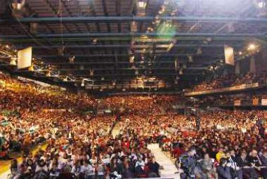 Nelson Mandela Forum audience