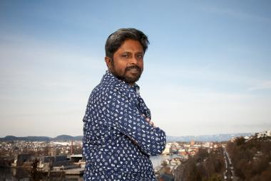 Ahmedur Rashid Chowdhury. Photo: Arne Olav Lunde Hageberg. Photo.