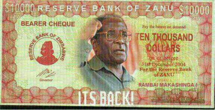 ten thousand dollar bill president