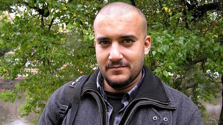 Khaled Harara, ICORN guest writer in Gothenburg, musician/rapper