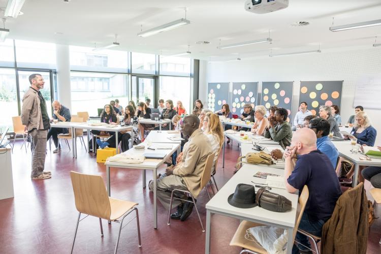Arts Rights Justice Academy, Hildesheim, 2017. Photo.
