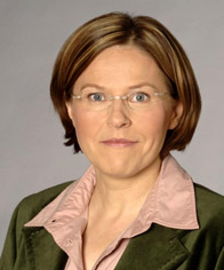 Heidi Hautala, the Chairwoman of the European Parliament Subcommittee on Human Rights