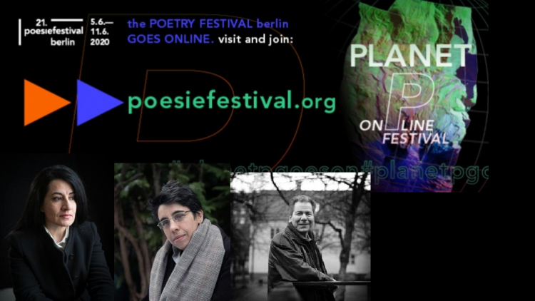 PoesifestivalBerlin digital festival June 2020.Photo.