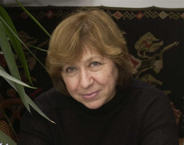 Svetlana Alexievich. Photo.