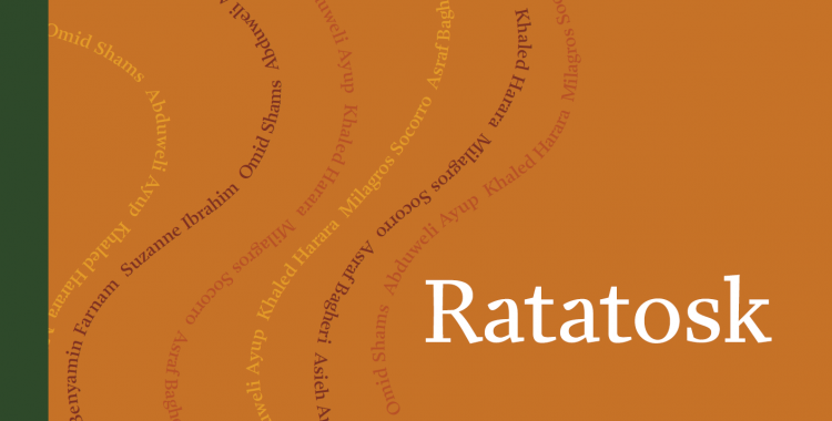 Cover of the Ratatosk Anthology, published by Danish PEN 2020.The anthology is a product of a year long Nordic translation project. Photo