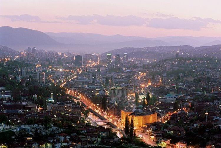 Sarajevo. Photo: BloodSaric at English Wikipedia. Photo.