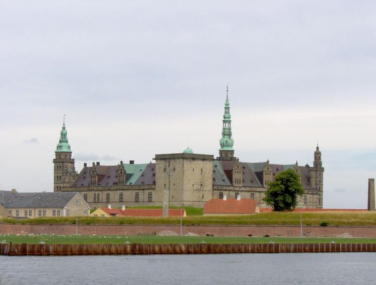 Kronborg Castle in Elsinore. Photo: Wikimedia Commons/Charlotte S.H. Jensen.Photo.