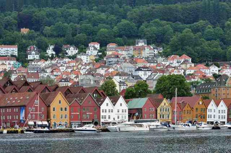 Bryggen in Bergen. Photo. Copyright: Eric Salard