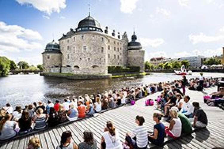 The City of Örebro/ Örebro Castle. Photo: Jonas Classon. Photo.