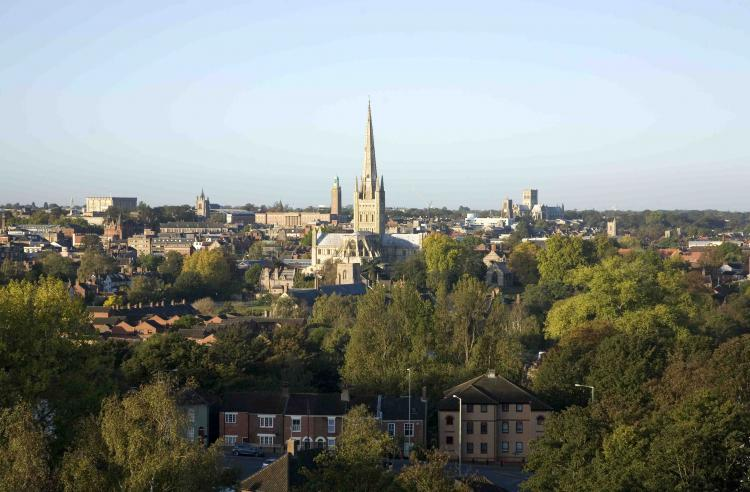 Norwich. Photo.