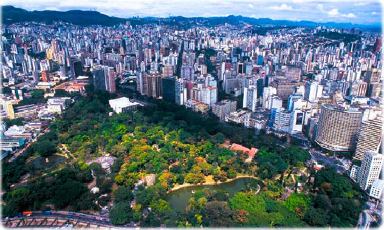 Belo Horizonte Municipal park. Photo.
