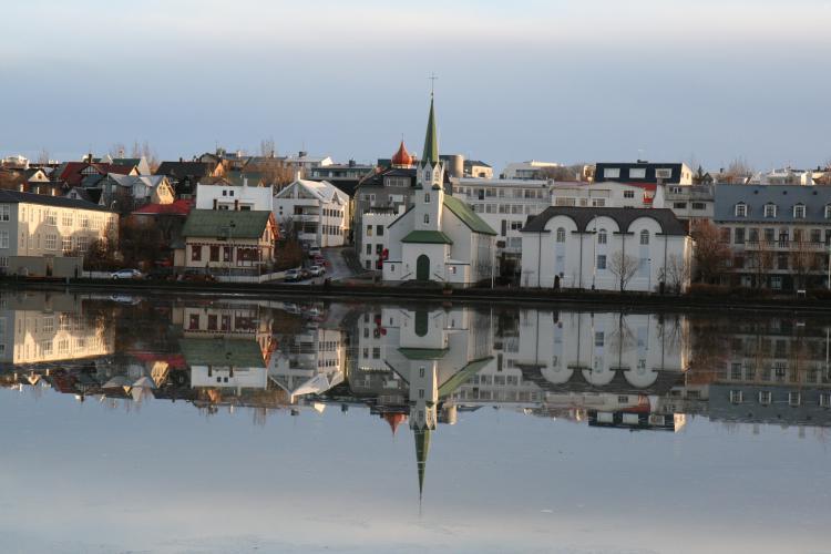 Reykjavík. Photo.
