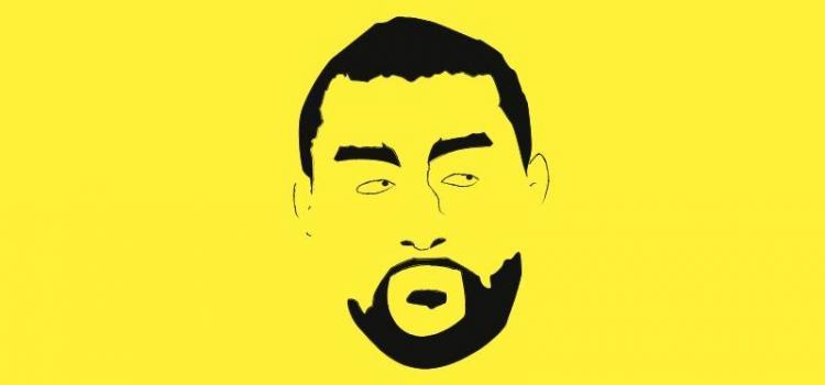 Khalid Albaih. Self portrait. Photo.