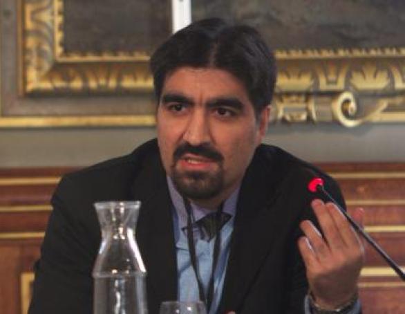 Ali Kalaei. Photo: Hossein Salmanzadeh. Photo.