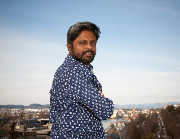 Ahmedur Rashid Chowdhury. Photo: Arne Olav Lunde Hageberg. Photo.